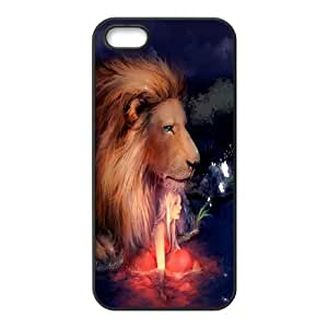 High quality animal Lion-The king of the forest series protective case cover For Iphone 4 4S case coverH0U94-A4871
