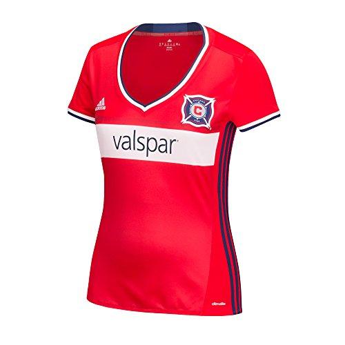 MLS Damen Replica Short Sleeve Team Jersey scharlachrot