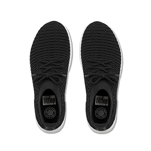 High 001 Gymnastics Black Fitflop Überknit on Shoes Slip Women's Top Black wwIvqT8