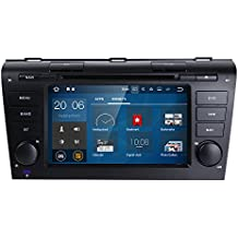 "Car Audio Radio Stereo Quad-Core 7"" Android 7.1 2GB Ram Car DVD CD Player GPS Navigation Special for Mazda 3 2004,2005,2006,2007,2008 and 2009"