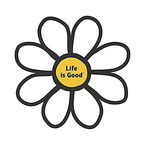 Life is Good. Die Cut Sticker - Daisy -  - Daisy Shape Die Shopping Results