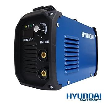 Soldador Inverter Electrodo de 160Amp Hyundai - Mma-161: Amazon.es: Bricolaje y herramientas