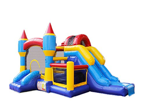 BestParty Commercial Grade Inflatable Bounce House and Slide Combo for Rental Use