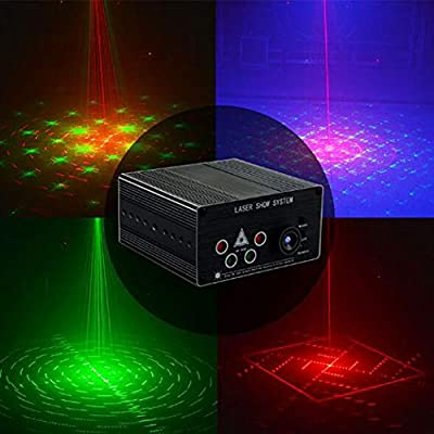 Party Lights Sound Activated Lights Remote Control Galaxy Projector LED Ripple Wave Projector DJ Party Lights Xmas Disco Decor Holiday Event