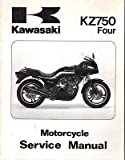1980-1988 KAWASAKI MOTORCYCLE KZ750 FOUR SERVICE MANUAL P/N 99924-1021-06 (536)