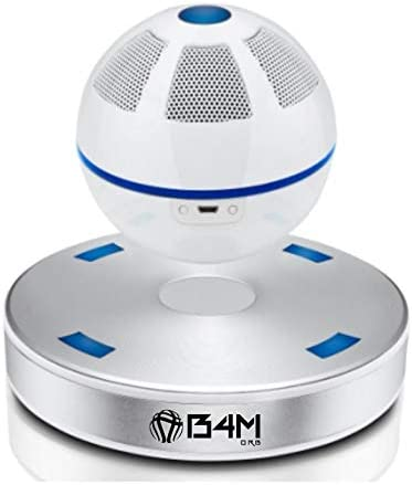 B4M ORB-Ice Silver Portable Wireless Bluetooth 4.1