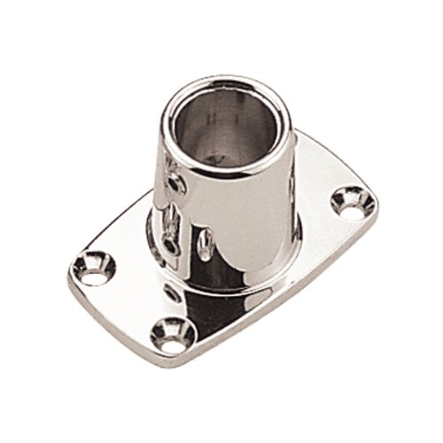 Sea Dog 286190-1  Rectangular Base Rail Fitting, 90° (1 Base)