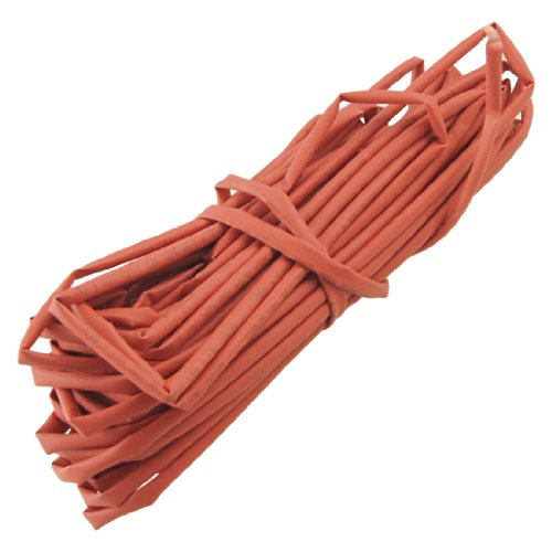 uxcell Wire Wrap Heat Shrinkable Tube Shrink Sleeve Red 3mm Dia 10M Long
