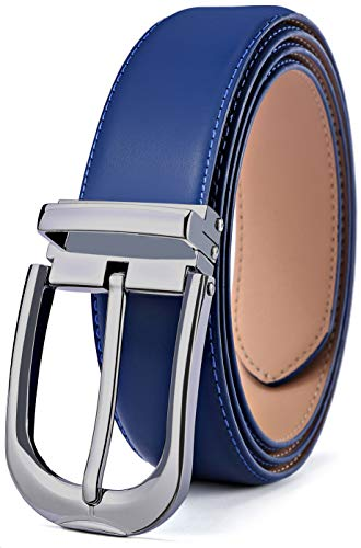 Men's Belt,Bulliant Leather Adjustable Belt for Men Dress Ca