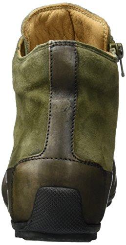 Candice Cooper Camoscio, Sneaker a Collo Alto Donna Verde (Kaki)