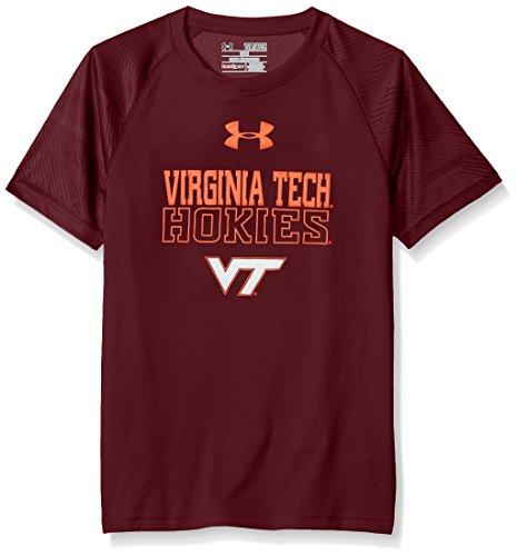 Under Armour NCAA Virginia Tech Hokies Youth Boys' Tech Short Sleeve Tee, Small, ()