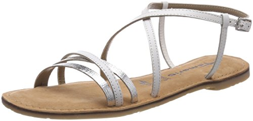 White 100 White Back Sling Sandals 28114 WoMen Tamaris PqzwvYx
