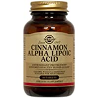 Solgar Cinnamon Alpha-Lipoic Acid Tablets - Pack of 60