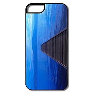 Durable Wooden Bridge Case For IPhone 5/5s