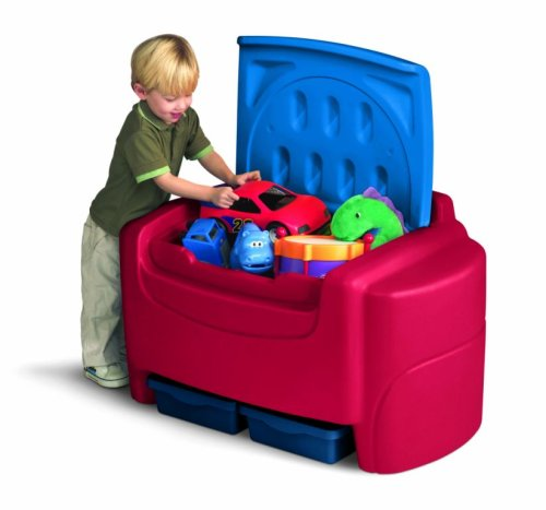 Little Tikes Primary Colors Toy Chest (Little Tikes Toy Chest)