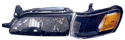Depo 312-1104PXASC2 Toyota Corolla Black Diamond Headlight