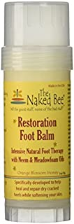 product image for Restoration Foot Balm Stick - The Naked Bee - Orange Blossom Honey 57g by The Naked Bee