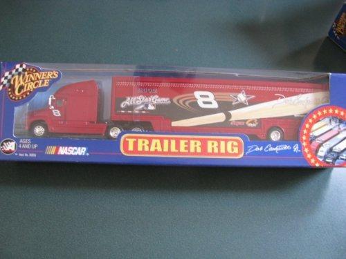 2002 Dale Earnhardt Jr #8 All Star Game Hauler Trailer Transporter Semi Tractor Rig Truck 1/64 Scale Winners Circle ()