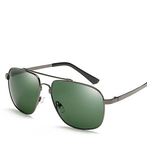 Chahua Lunettes Fashion mens high gloss lunettes lunettes uv roulant