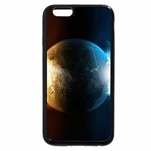 iPhone 6S / iPhone 6 Case (Black) Sun Earth Moon