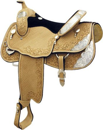 Billy Cook Saddlery Denton County Show Saddle 17 - Billy Cook Show Saddle