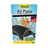 Tetra 77849 Whisper Air Pump 30 to 60 Gallons, for