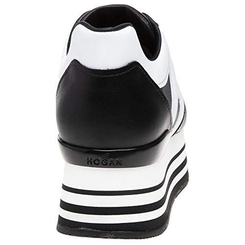 Baskets Femme Maxi Hogan Mode Noir Grande Pz8gnt