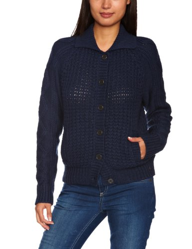 Lunga Cardigan Manica A Striped Donna Blues Levi's Blu Righe Cable dress YXxFWwd