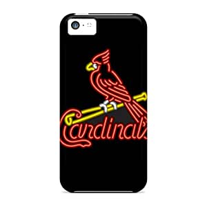 Protective Cell-phone Hard Cover For Iphone 5c (Epl269PLED) Customized High-definition St. Louis Cardinals Series