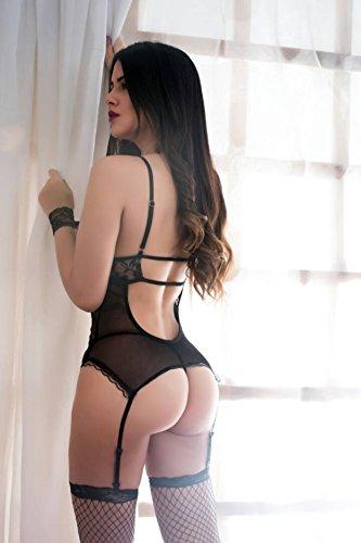 Jual Women Sexy Lace Lingerie Garter Belts Corset Teddy Bodysuits ... 59302eddc
