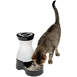 PetSafe Healthy Pet Water Station, Dog and Cat Water System with Stainless Steel Bowl, Small, 64 oz.