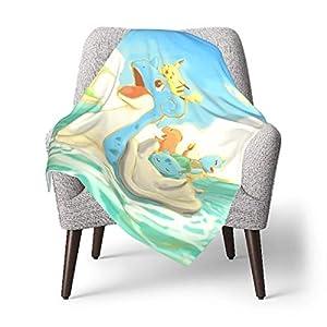 AOOEDM Baby Blanket Anime Squirrel Bulbasaur Toddler Kids Blanket Super Soft Baby Blankets Cozy Crib Lightweight…