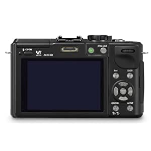 Panasonic Lumix DMC-GX1 16 MP Micro 4/3 Mirrorless Digital Camera with 3-Inch LCD Touch Screen Body Only (Black…