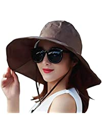 Outdoor UV Protection Rain Cap Waterproof Rain Hat Wide Brim Bucket Hat 8421597408e9