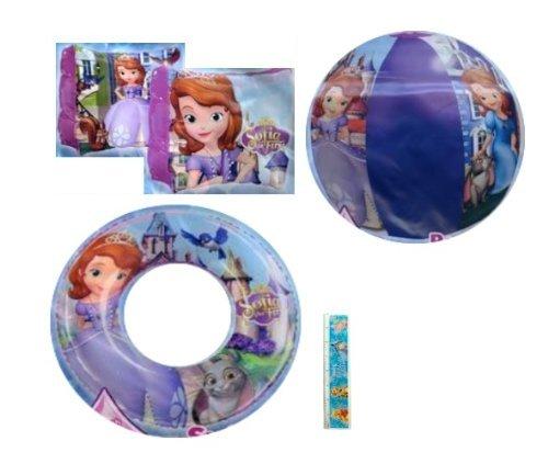 4-piece Disney Princesses Pool Toy Swim Set: Disney Sofia th