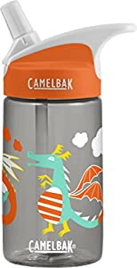 CamelBak Eddy Kids Back To School Water Bottle, Dragon, 0.4 L