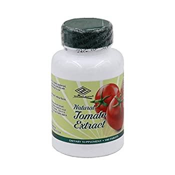 Natural Tomato Extract with Lycopene - 100 Tablets