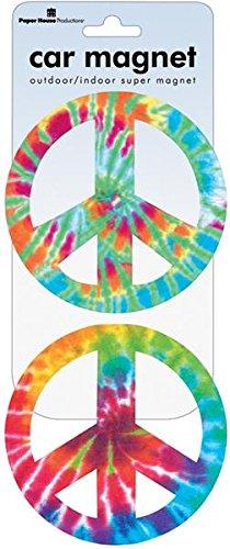 Peace Car Magnet - 3