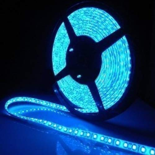 Spritech High Density Waterproof Led Light Strip, SMD 3528, 300 LEDs 5 Meter 16 Feet LED Strip 60 LEDs/M LED-0001-0001
