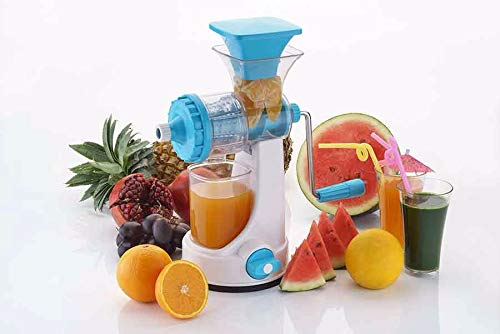 Vivir� Galaxy Hand Juicer for Fruits and Vegetable with Steel Handle and Juice Collector