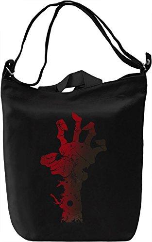 Skeleton Hand Borsa Giornaliera Canvas Canvas Day Bag| 100% Premium Cotton Canvas| DTG Printing|