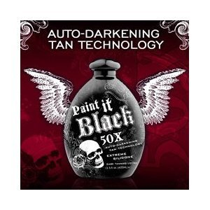 Wholesale Case lot of 12 Paint it black 50x Tanning Lotion by Millennium Tanning Products