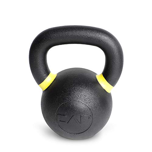 (CAP Barbell Cast Iron Competition Kettlebell Weight, 35 Pound,)
