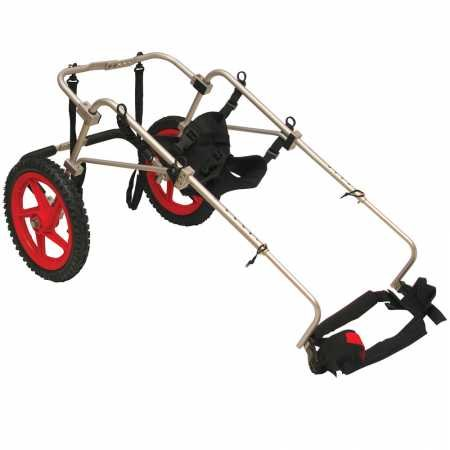 Silla de ruedas para perros - Talla XL para 45-80kg y altura de 58-74cm: Amazon.es: Productos para mascotas
