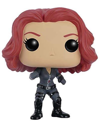 FunKo 7230 POP Marvel Captain America 3  Civil War, Vinyl Bobble head Action Figure - Black Widow