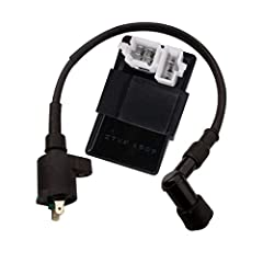 CDI:              Brand New 6-Pin male plug CDI for most Chinese GY6 50cc -150cc Scooters, ATVs & Go Karts       Ignition energy intensity, powerful acceleration       Please check pictures and specifications for compatibi...