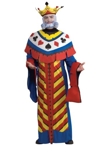 Rubie's Costume Co Playing Card King Costume, Large, Large for $<!--$29.99-->