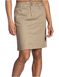 Dickies Juniors Uni Double-Buttoned Twill Skirt- School...