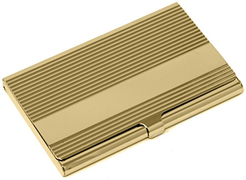 Classic Business Cards - Gold Classic Bar Slim Business Card Holder