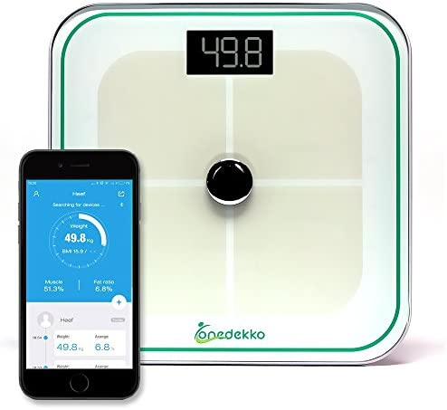 onedekko Bluetooth Smart Scale Measurements